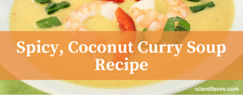 spicy coconut curry soup