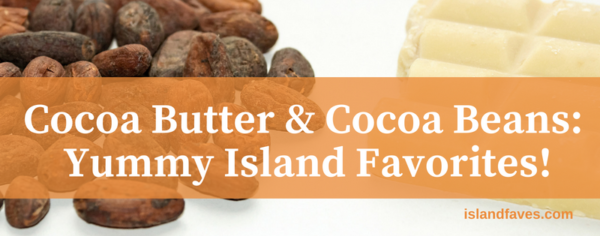 cocoa butter and cocoa beans