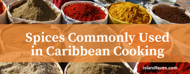 spices used in Caribbean cooking